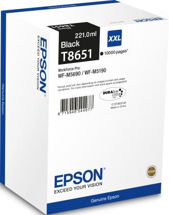 Originální cartridge Epson T8651 (Černá)