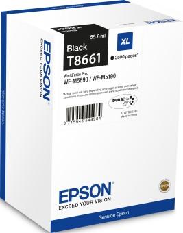 Originální cartridge Epson T8661 (Černá)
