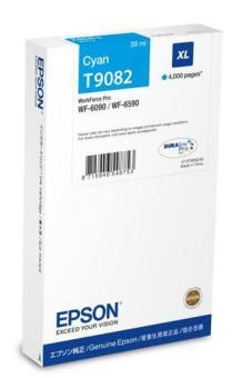 Originální cartridge EPSON T9082 (Azurová)