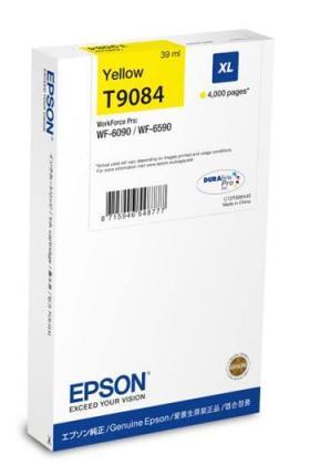 Originální cartridge EPSON T9084 (Žlutá)