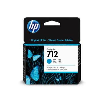Originální cartridge HP č. 712 (3ED67A) (Azurová)