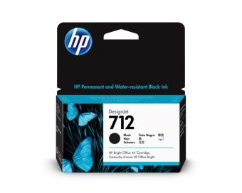Originální cartridge HP č. 712 (3ED70A) (Černá)
