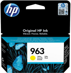 Cartridge do tiskárny Originální cartridge HP č. 963 (3JA25A) (Žlutá)