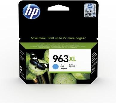Originální cartridge HP č. 963XL (3JA27A) (Azurová)