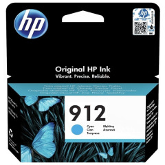 Cartridge do tiskárny Originální cartridge HP č. 912 (3YL77A) (Azurová)