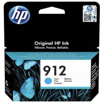 Originální cartridge HP č. 912 (3YL77A) (Azurová)