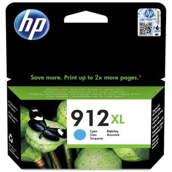 Originální cartridge HP č. 912 XL (3YL81A) (Azurová)