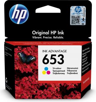 Originální cartridge HP č. 653 (3YM74A) (Barevná)