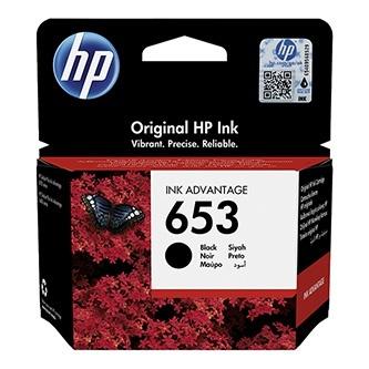 Originální cartridge HP č. 653 (3YM75A) (Černá)