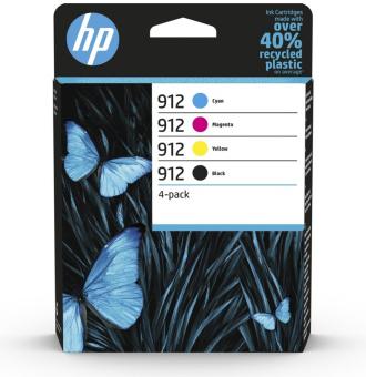 Sada originálních cartridge HP č. 912 (6ZC74AE)
