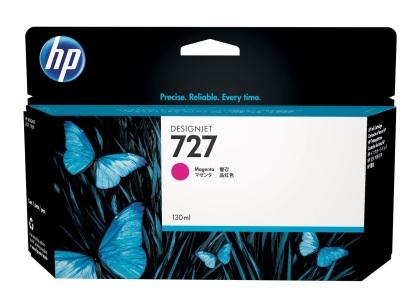 Originální cartridge HP č. 727 (B3P20A) (Purpurová)