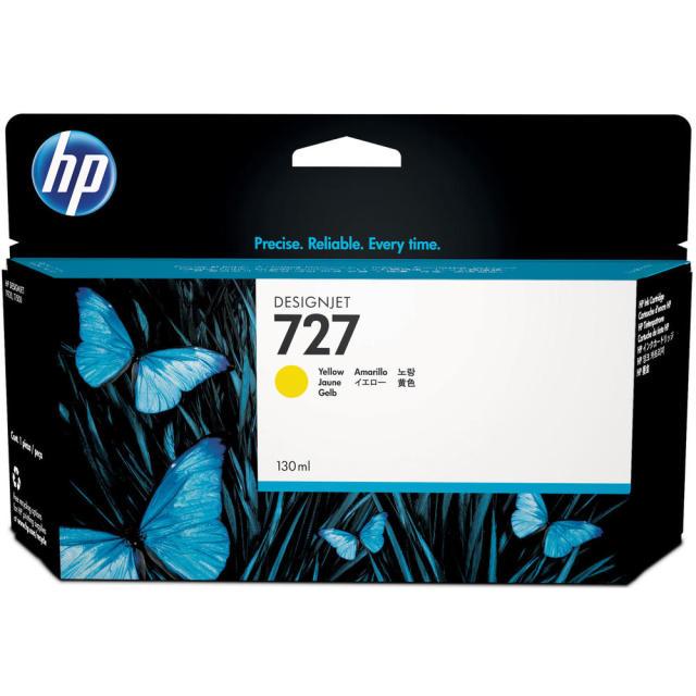 Originální cartridge HP č. 727 (B3P21A) (Žlutá)