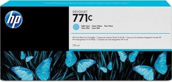 Originální cartridge HP č. 771C (B6Y12A) (Světle azurová)