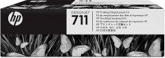 Cartridge do tiskárny Originální tisková hlava HP č. 711 (C1Q10A) (Barevná)