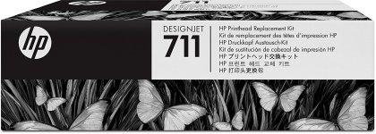 Originální tisková hlava HP č. 711 (C1Q10A) (Barevná)
