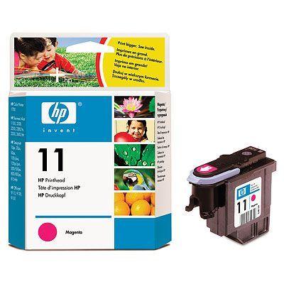 Originální tisková hlava HP č. 11 (C4812A) (Purpurová)
