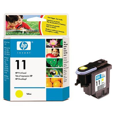 Originální tisková hlava HP č. 11 (C4813A) (Žlutá)