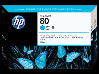 Originální cartridge HP č. 80 (C4846A) (Azurová)