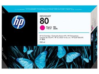 Originální cartridge HP č. 80 (C4847A) (Purpurová)