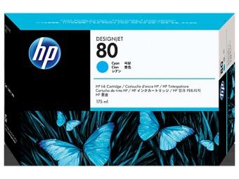 Originální cartridge HP č. 80 (C4872A) (Azurová)