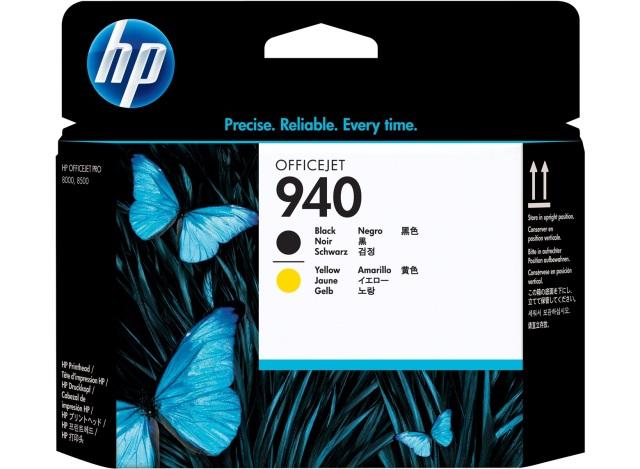 Originální tisková hlava HP č. 940 (C4900A) (Černá, žlutá)