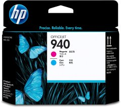 Cartridge do tiskárny Originální tisková hlava HP č. 940 (C4901A) (Azurová, purpurová)