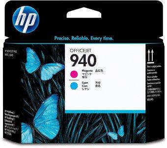 Originální tisková hlava HP č. 940 (C4901A) (Azurová, purpurová)