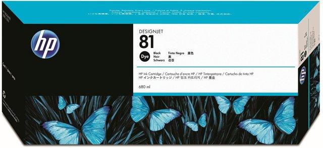 Originální cartridge HP č. 81 (C4930A) (Černá)