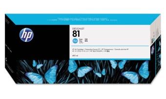 Originální cartridge HP č. 81 (C4931A) (Azurová)