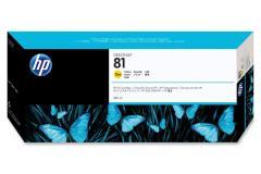 Cartridge do tiskárny Originální cartridge HP č. 81 (C4933A) (Žlutá)