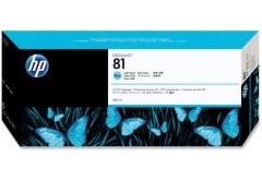 Cartridge do tiskárny Originální cartridge HP č. 81 (C4934A) (Světle azurová)