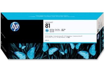 Originální cartridge HP č. 81 (C4934A) (Světle azurová)