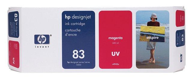 Originální cartridge HP č. 83 (C4942A) (Purpurová)