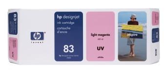 Originální cartridge HP č. 83 (C4945A) (Světle purpurová)