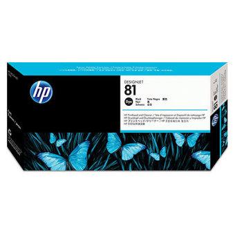 Originální tisková hlava HP č. 81 (C4950A) (Černá)