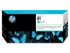 Cartridge do tiskárny Originální tisková hlava HP č. 81 (C4951A) (Azurová)