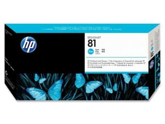 Originální tisková hlava HP č. 81 (C4951A) (Azurová)