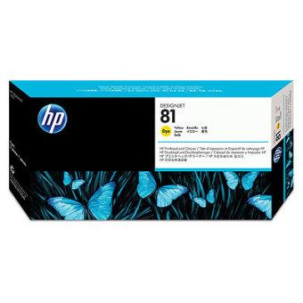 Originální tisková hlava HP č. 81 (C4953A) (Žlutá)