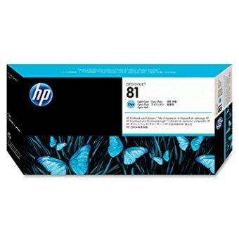 Originální tisková hlava HP č. 81 (C4954A) (Světle azurová)