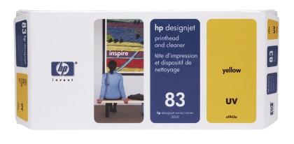 Originální tisková hlava HP č. 83 (C4963A) (Žlutá)