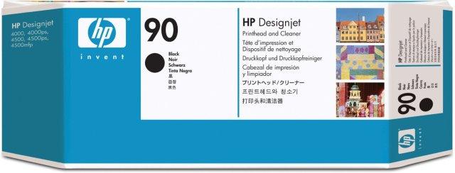 Originální tisková hlava HP č. 90 (C5054A) (Černá)