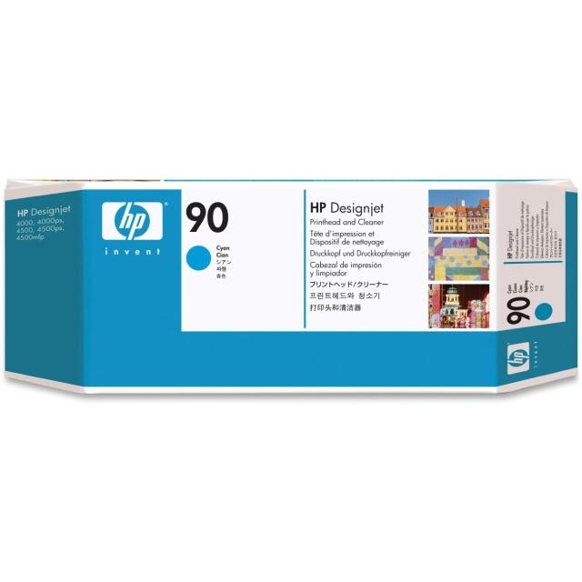 Originální tisková hlava HP č. 90 (C5055A) (Azurová)