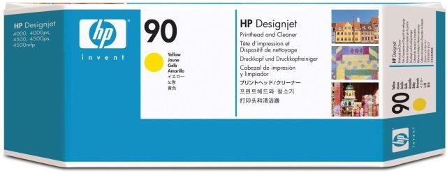 Originální tisková hlava HP č. 90 (C5057A) (Žlutá)