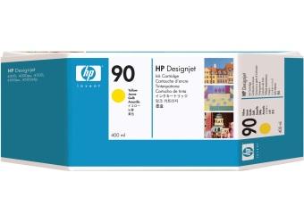 Originální cartridge HP č. 90 (C5065A) (Žlutá)