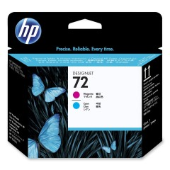 Cartridge do tiskárny Originální tisková hlava HP č. 72 (C9383A) (Azurová, purpurová)