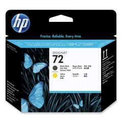 Cartridge do tiskárny Originální tisková hlava HP č. 72 (C9384A) (Matná černá, žlutá)