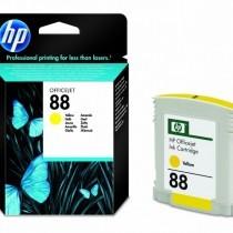 Originální cartridge HP č. 88 (C9388A) (Žlutá)