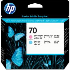 Cartridge do tiskárny Originální tisková hlava HP č. 70 (C9405A) (Světle azurová, světle purpurová)