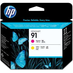 Cartridge do tiskárny Originální tisková hlava HP č. 91 (C9461A) (Purpurová, žlutá)
