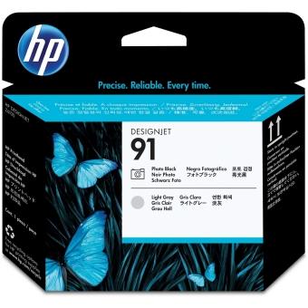 Originální tisková hlava HP č. 91 (C9463A) (Foto černá, světle šedá)